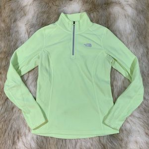 The North Face half zip pullover fleece sweater